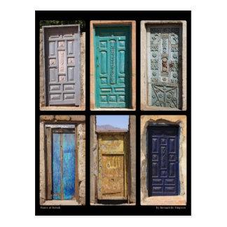Doors of Dahab Postcard