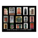 Doors of Historic St. Augustine, Florida Post Card