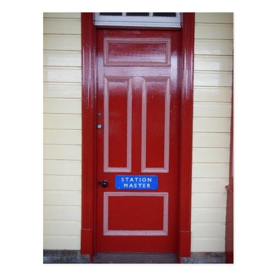 Doors of Scotland - Aviemore Train Station Postcard