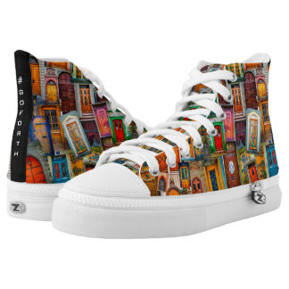 Doors of the World #GOFORTH Unique Colorful High Tops