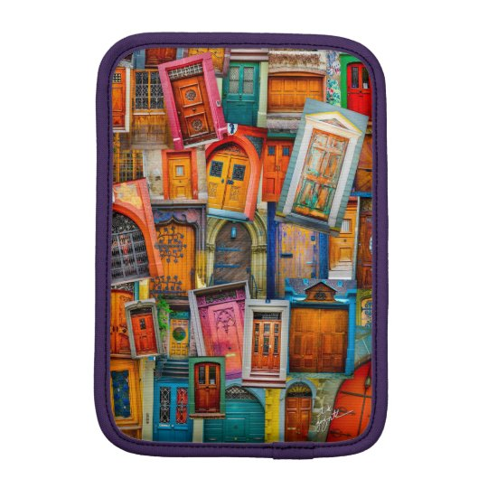 Doors Of The World iPad Mini Vertical iPad Mini Sleeve