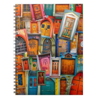 Doors of the World Notebook