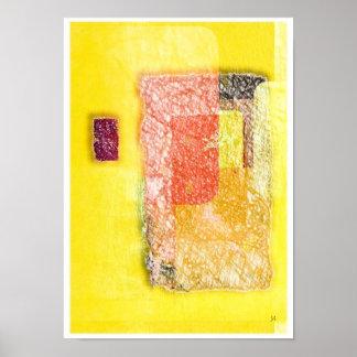 Doorway Abstract Art Poster