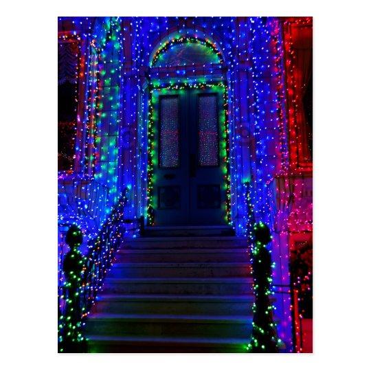 Doorway Lights Postcard