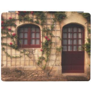 Doorway of rose cottage iPad cover
