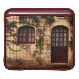 Doorway of rose cottage iPad sleeve