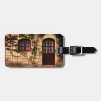 Doorway of rose cottage luggage tag