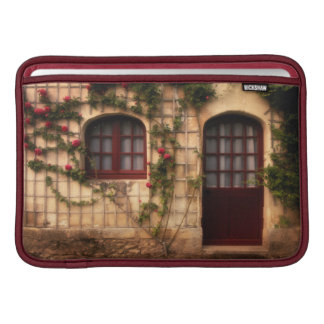Doorway of rose cottage MacBook sleeve
