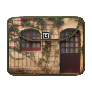 Doorway of rose cottage sleeve for MacBooks