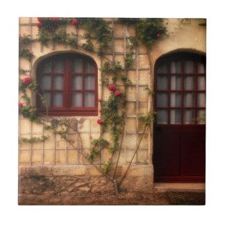 Doorway of rose cottage tile