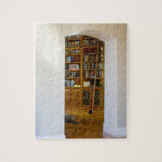 Doorway to Home Library Jigsaw Puzzle