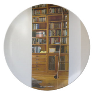 Doorway to Home Library Plate