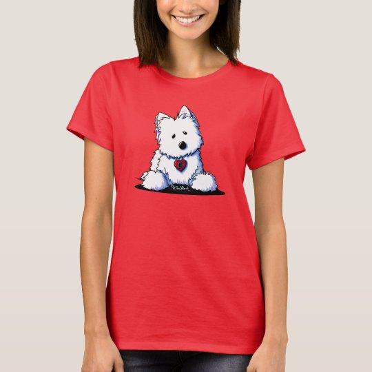 DOORWAY TO MY HEART Westie T-Shirt