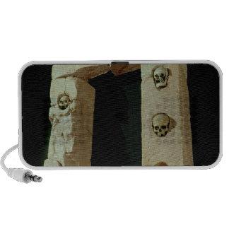 Doorway with Skulls iPod Speaker