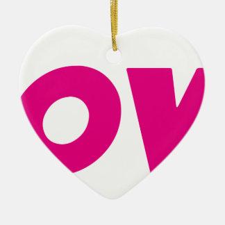 DOOVDE DVD Player Fonejacker Ceramic Heart Decoration