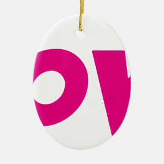 DOOVDE DVD Player Fonejacker Ceramic Oval Decoration