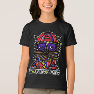 """Dope Evolution"" Girls' American Apparel T-Shirt"