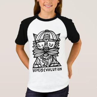 """Dope Evolution"" Girls' Short Sleeve Raglan T-Shirt"