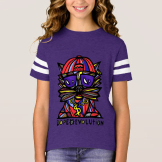 """Dope Evolution"" Girls' Sport Shirt"