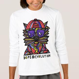 """Dope Evolution"" Girls' Sport T-Shirt"