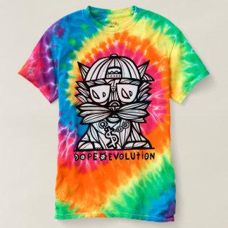 """""""Dope Evolution"""" Women's Spiral Tie-Dye T-Shirt"""