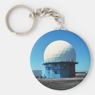 Doppler Weather Radar Station - Norman Key Ring