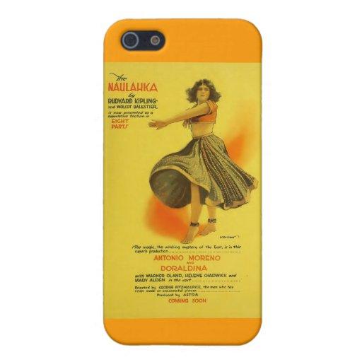 Doraldina 1918 exhibitor ad silent movie iPhone 5/5S cases