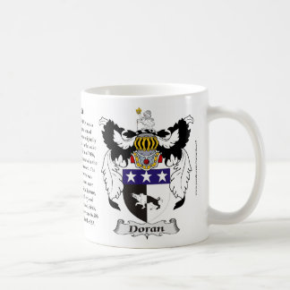 Doran Family Coat of Arms Coffee Mugs