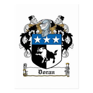 Doran Family Crest Postcard