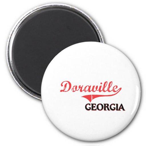 Doraville Georgia City Classic 6 Cm Round Magnet