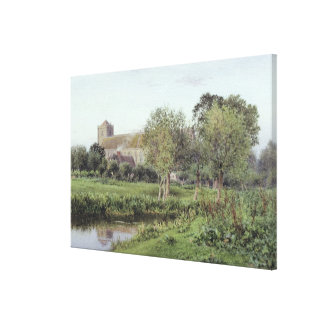 Dorchester Abbey, Near Wallingford Canvas Print