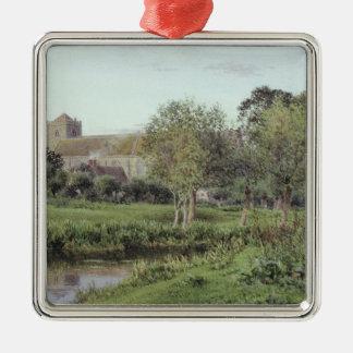 Dorchester Abbey, Near Wallingford Christmas Ornament