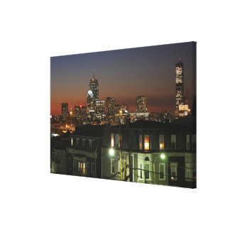Dorchester Heights neighborhood of Boston Canvas Print