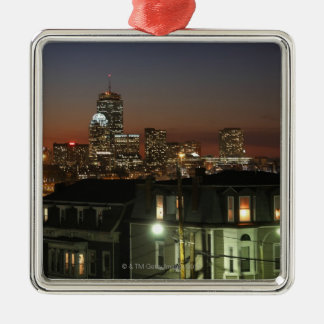 Dorchester Heights neighborhood of Boston Christmas Ornament