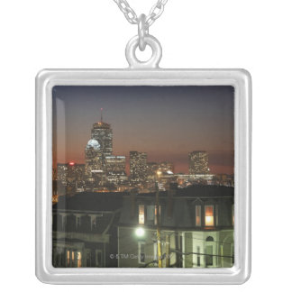 Dorchester Heights neighborhood of Boston Silver Plated Necklace