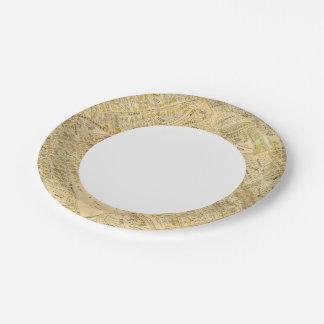 Dorchester, Massachusetts 2 7 Inch Paper Plate