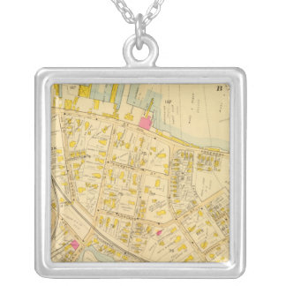 Dorchester, Massachusetts 3 Silver Plated Necklace