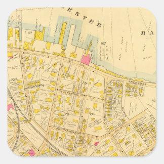 Dorchester, Massachusetts 3 Square Sticker