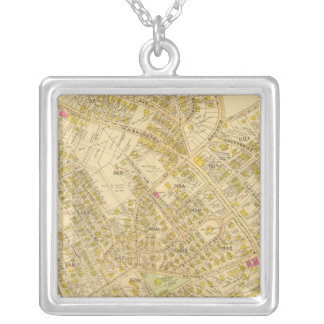 Dorchester, Massachusetts 4 Silver Plated Necklace