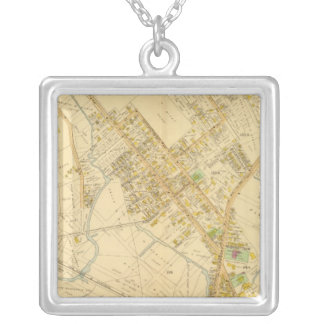 Dorchester, Massachusetts 5 Silver Plated Necklace