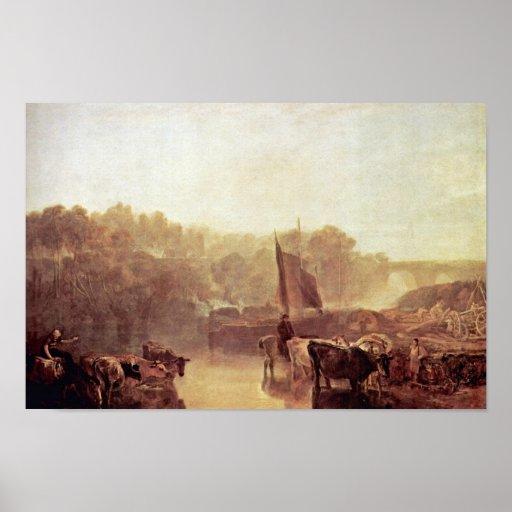Dorchester Mead Oxfordshire By Turner Joseph Mallo Poster