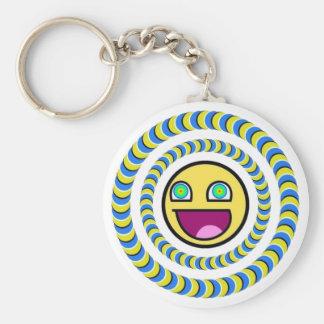Dorgas - Illusion of Optics Basic Round Button Key Ring