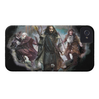 Dori, Kili, and Bifur iPhone 4 Case-Mate Case
