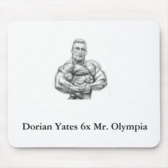 Dorian Yates Olympia Mouse Pad