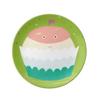 Doris Cupcake Plate