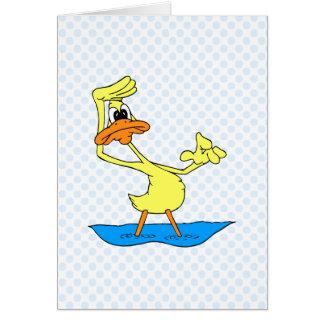 Doris Duck Greeting Card