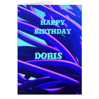 Doris Greeting Card