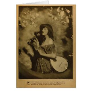 Doris Kenyon 1918 vintage portrait card