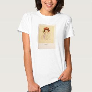 Doris Kenyon 1923 vintage portrait T-shirt