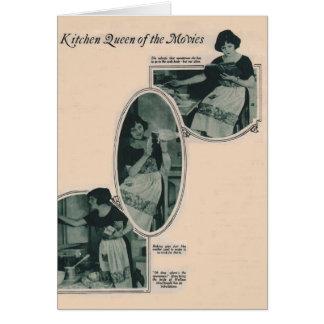 Doris May 1922 vintage production photos Greeting Card